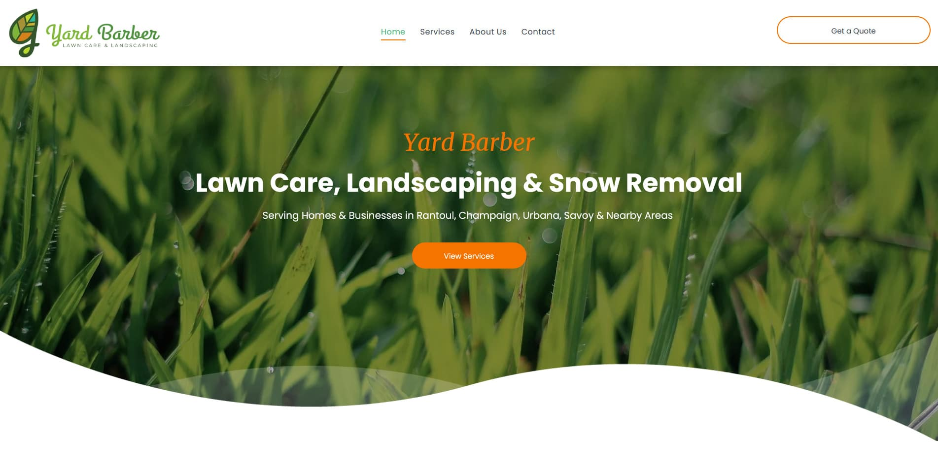 Yard Barber Lawn Care & Landscaping Rantoul, IL